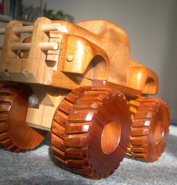Wooden Toy Monster Trucks Wooden Toy Monster Truck