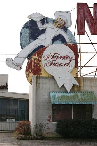 Nelva Fine Food Sign in Meridian, MS