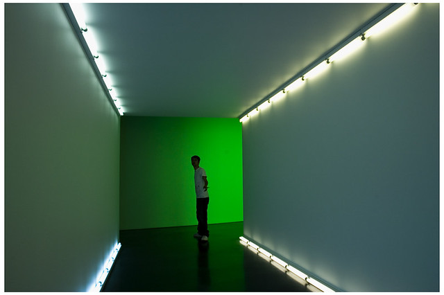 Flavin tunnel with Marty Spellerberg