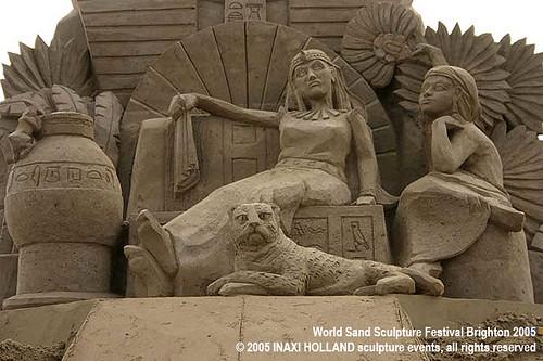 World Sand Sculpture Festival Brighton 2005