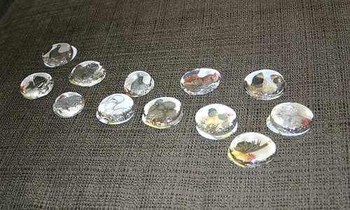 Picture Marble Magnets 2