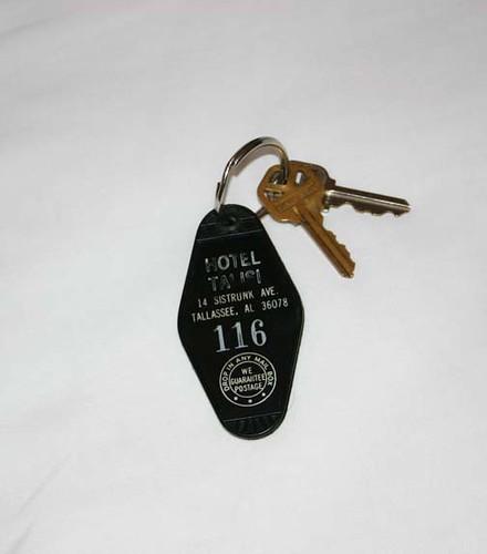 Hotel Talisi - real keys! Tallassee, AL