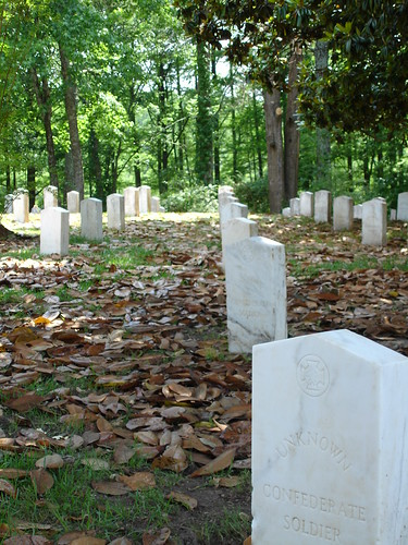 Confederate Graves at Friendship Cemetery in Columbus MS