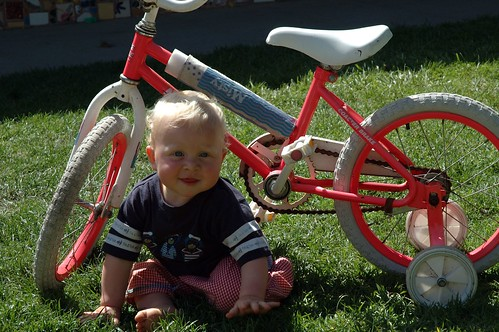 Mathew Is One and Bike