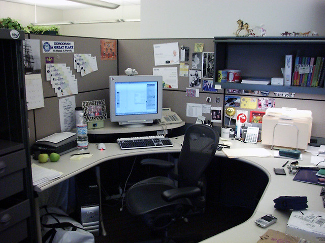 The Cubicle Life Flickr Photo Sharing