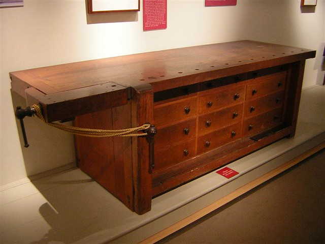 Cool American Ohio Shaker Walnut And Mixed Wood Work Bench Circa 1850 At