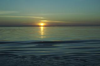 Sunset, 11p, Helsinki