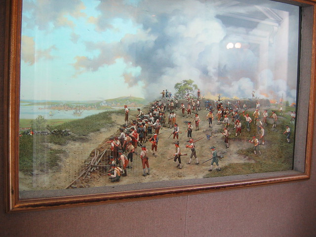 Diorama Of The Battle Of Bunker Hill