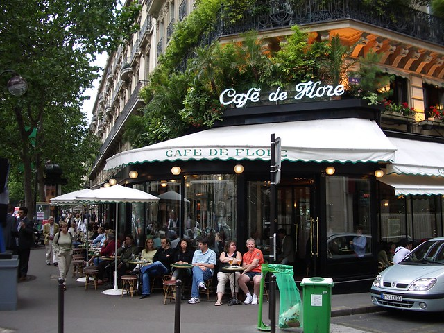 st-germain district: café de flore