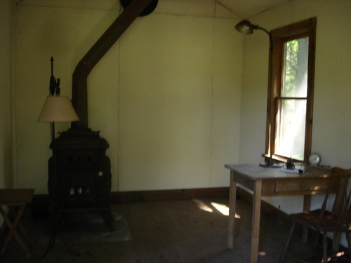 Edna St. Vincent Millay's writing cabin