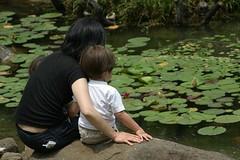 Photo:Mother and child By:nakagawa