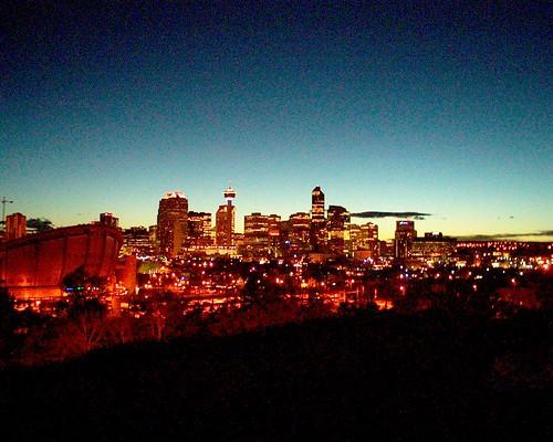 Calgary Skyline July 13 2005