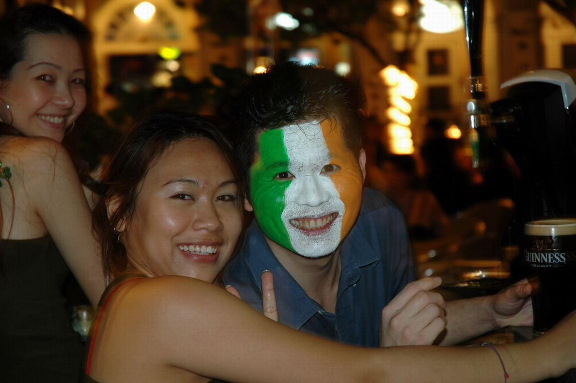 Irish Facepaint, Singapore