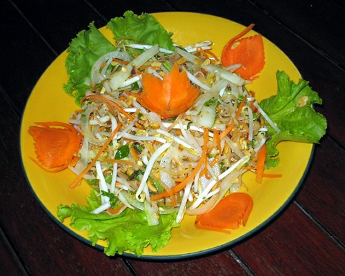 Diva Banana flower salad