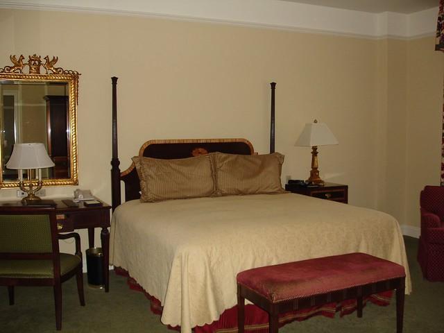 The Hermitage Hotel Room, Nashville TN