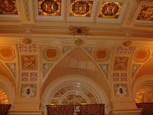 Lobby Ceiling, The Hermitage Hotel, Nashville TN
