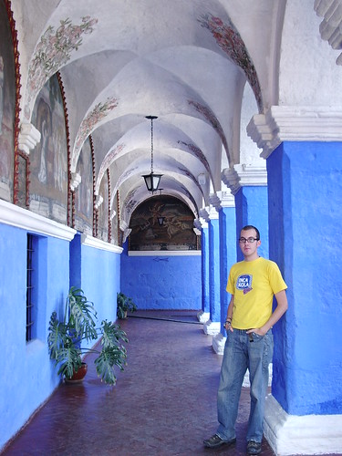 Jody in Santa Catalina Convent