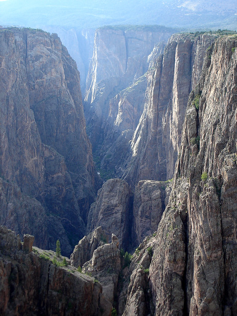 Black Canyon of the Gunnison (Credit: Jesse Varner on Flickr.com)