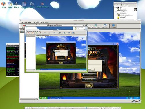 Installing Warcraft into a Gentoo Linux box