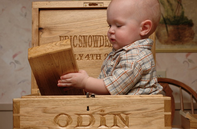day 382: odin's magnificently metaphorical birthday box! III.