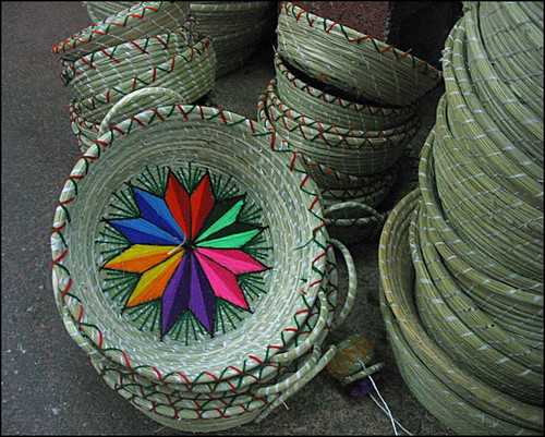 Baskets at the Market