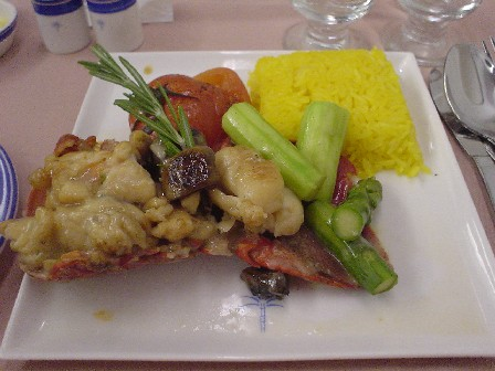 SQ Raffles Class Lobster Thermidor
