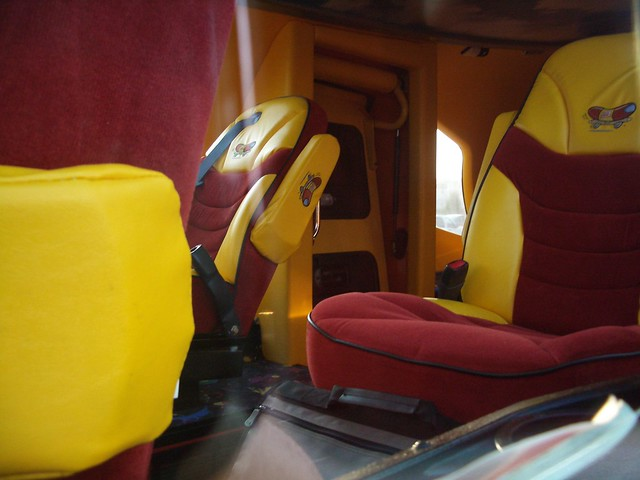 inside the oscar mayer wienermobile flickr photo sharing. Black Bedroom Furniture Sets. Home Design Ideas