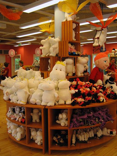 Muñecos de los Moomin