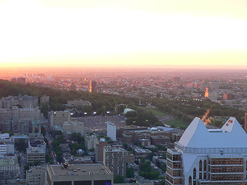 Sunset over Montreal