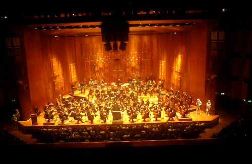 Darth Vader conducting the London Symphony Orchestra