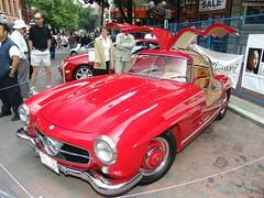 supercar(0.0), race car(1.0), automobile(1.0), vehicle(1.0), automotive design(1.0), mercedes-benz(1.0), mercedes-benz 190sl(1.0), mercedes-benz 300sl(1.0), antique car(1.0), classic car(1.0), vintage car(1.0), land vehicle(1.0), luxury vehicle(1.0), sports car(1.0), motor vehicle(1.0),