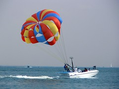 surface water sports, sports, parasailing, windsports, wind, extreme sport, water sport,