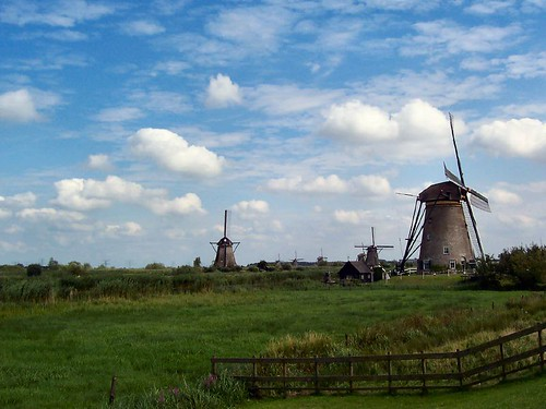 Windmills kinderdijk Netherlands
