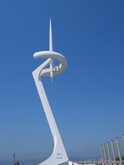 Movistar en parque olímpico de Barcelona