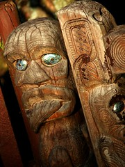 carving, art, ancient history, wood, sculpture, head, tiki, statue,