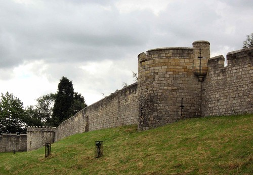 York City Wall (North side) by day