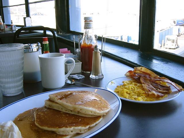 Pancakes @ LGB cafe