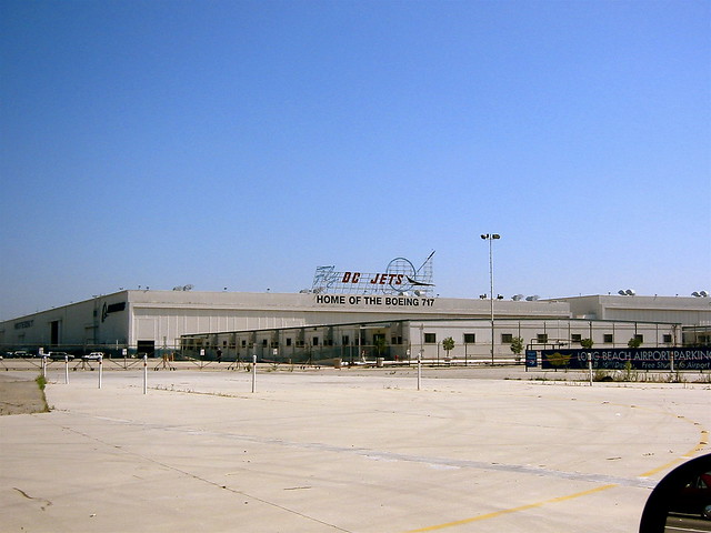 Old McDonnell-Douglas aircraft plant
