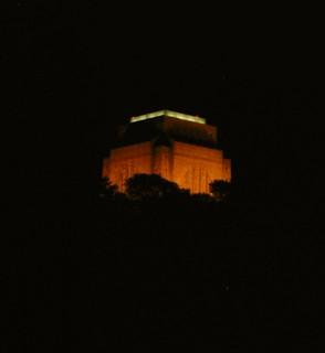 Voortrekker Monument By Night