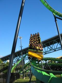 Image of Cobra. rollercoaster coasters rollercoasters laronde montreal cobra