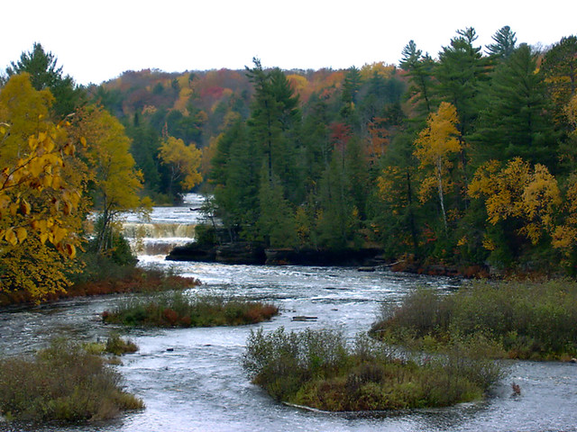 Tahquamenon River And Lower Falls Flickr Photo Sharing