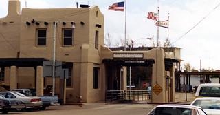 Mexican border crossing, Naco, Arizona, 1990