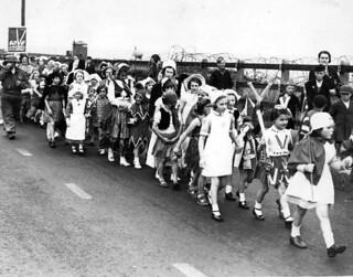 Wartime Fancy Dress Parade 1941
