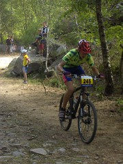 cyclo-cross bicycle(0.0), racing bicycle(0.0), road cycling(0.0), trail(1.0), racing(1.0), bicycle racing(1.0), mountain bike(1.0), road bicycle(1.0), vehicle(1.0), mountain bike racing(1.0), sports(1.0), race(1.0), freeride(1.0), sports equipment(1.0), downhill mountain biking(1.0), cycle sport(1.0), adventure racing(1.0), extreme sport(1.0), cross-country cycling(1.0), cycling(1.0), land vehicle(1.0), mountain biking(1.0), bicycle(1.0),