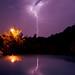 Lightning Crashes I by D.James   Darren J. Ryan