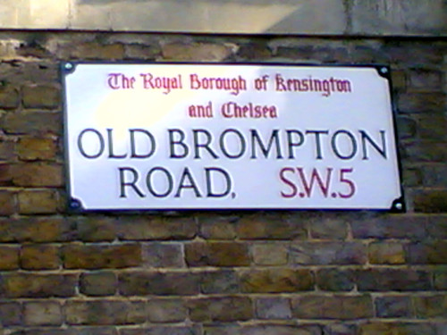 Old Brompton Road, SW5
