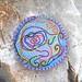 Scribble Pin Tuffet by Bella Dia