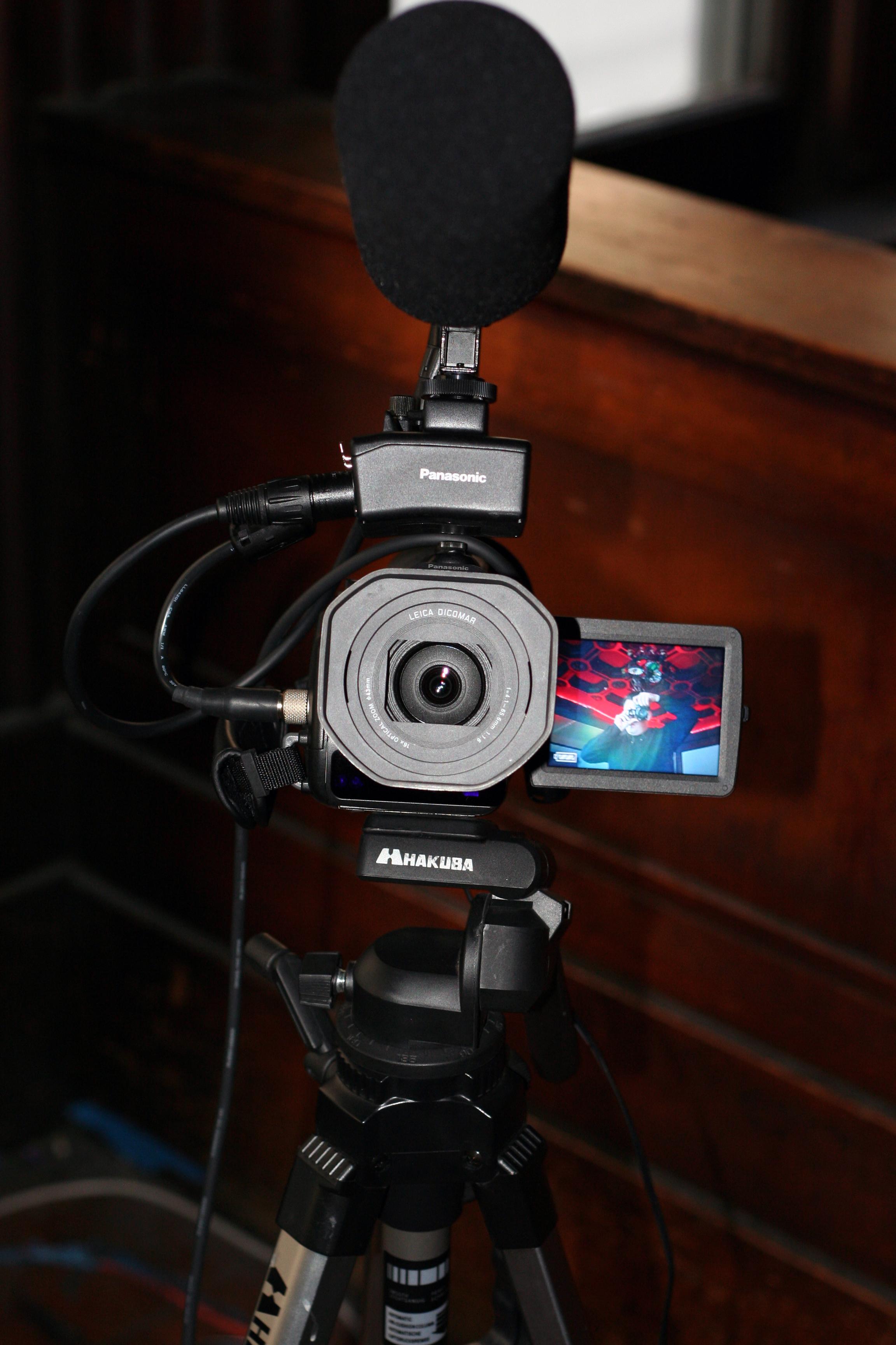 Eric Rice Show camera
