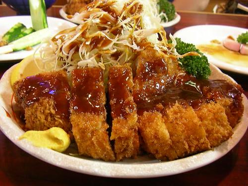 Pork cutlet (Tonkatsu)