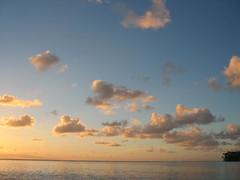 Sunrise - Huahine - Tahiti